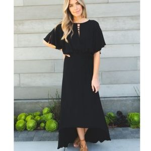 Cleobella Black High Low Dress